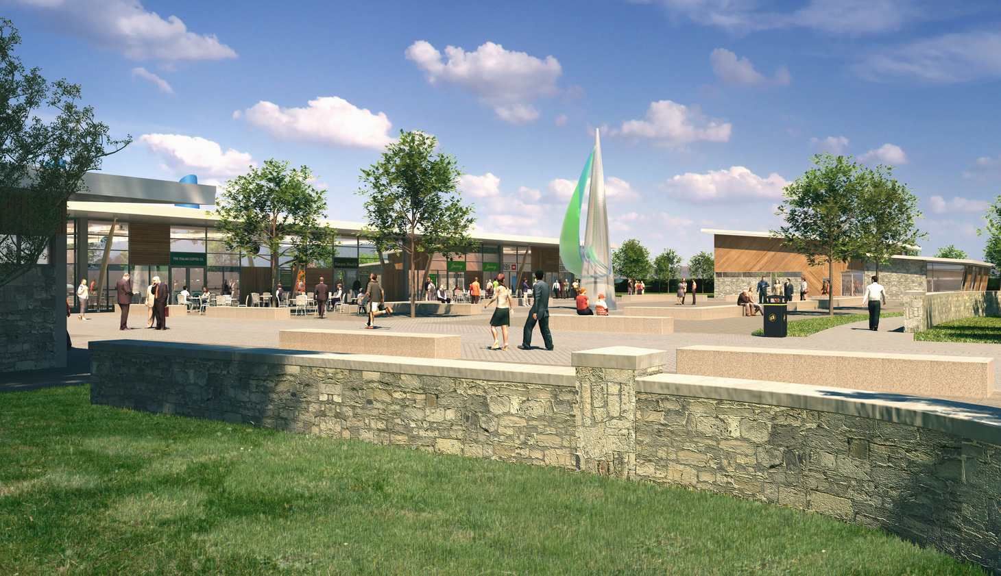 Retail-Led Mixed Use Development, Dores Road image