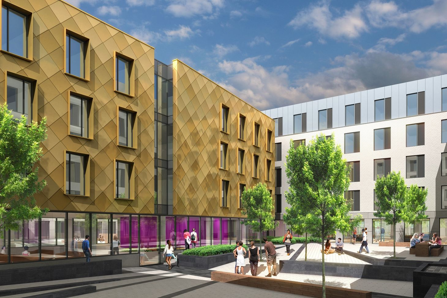 Manson scheme for 618 student bedspaces approved by Aberdeen City Council image