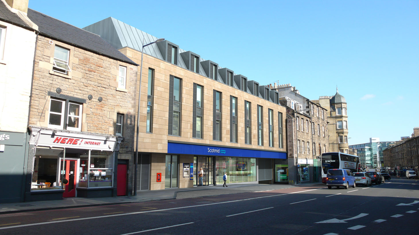 Planning permission granted and works commence on site at Leven Street image